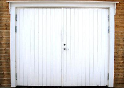 Garagedörr renovering