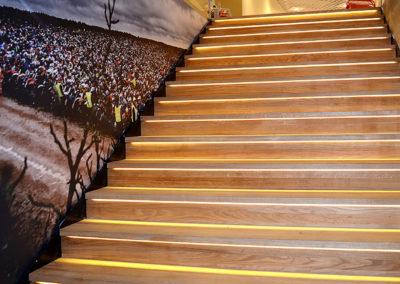 LDS trappdesign offentlig miljö