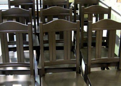 ytbehandling av stolar